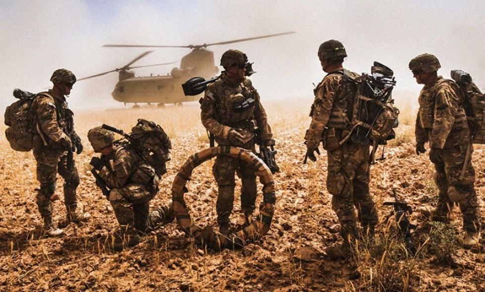 کاهش نیروهای امریکایی در افغانستان و عراق