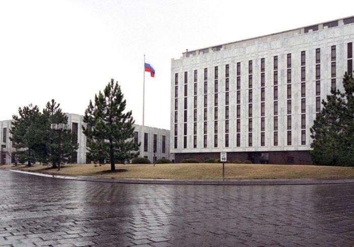 سفارت روسیه در واشنگتن از تهدیدها پس از مقاله نیویورک تایمز گفت
