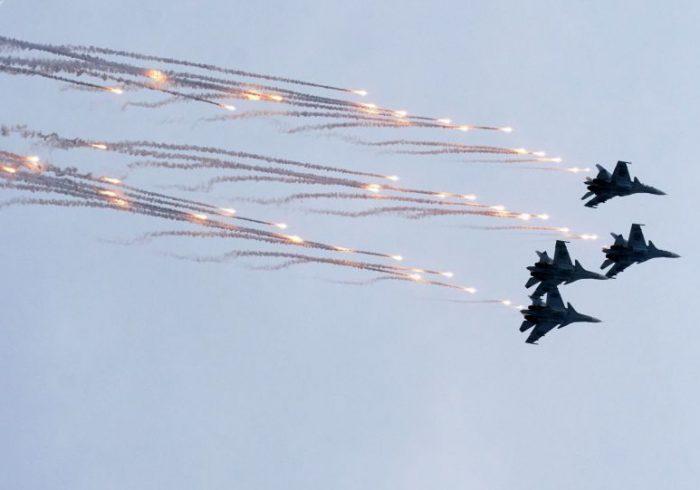 رهگیری هواپیماهای آمریکایی توسط جنگنده های روسی بر فراز دریای سیاه