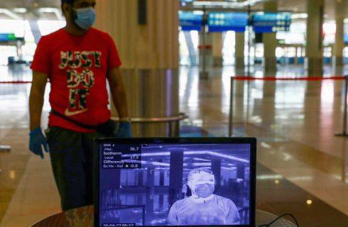 فناوری علیه کرونا در دُبی؛ از پهپادهای پاکساز تا دروازهٔ عبور هوشمند
