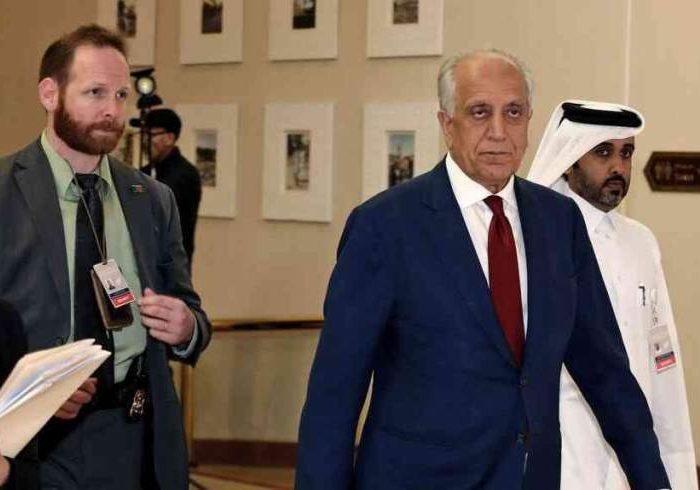 خلیلزاد بار دیگر عازم قطر شد