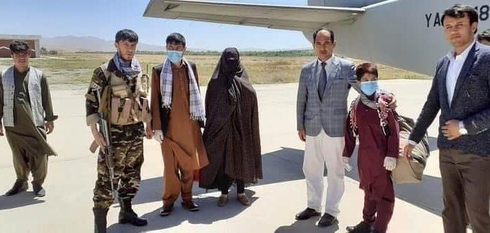 قمرگل از غور به کابل منتقل شد