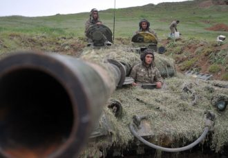 درگیری مسلحانه در مرز ارمنستان و آذربایجان