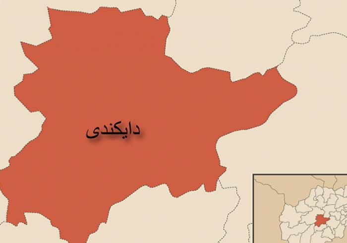 دفع حملهی طالبان در ولسوالی پاتوی دایکندی