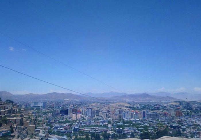انفجار موتر نیروهای امنیتی در کابل