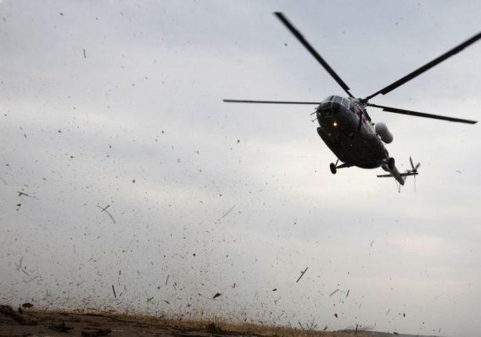 سقوط یک هلیکوپتر ارتش در ولایت هلمند