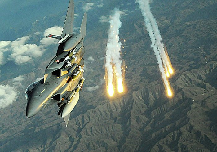 ادامه حملات هوایی نیروهای خارجی در قندهار؛ ۱۰ طالب ازبین رفت