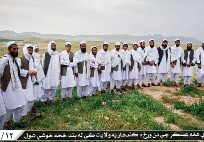 آزادی یک گروه دیگر زندانیان دولتی از سوی طالبان در بلخ