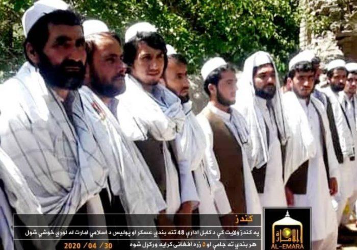آزادی یک گروه دیگر زندانیان دولتی از سوی طالبان