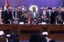 هند و افغانستان پنج تفاهمنامۀ آموزشی ۲٫۶ میلیون دالری امضا کردند