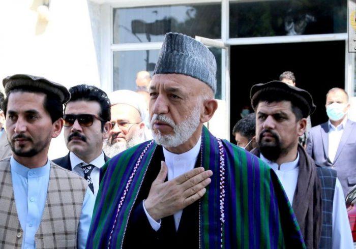 کرزی: مردم افغانستان سالهاست که بخاطر منافع دیگران قربانی میشوند