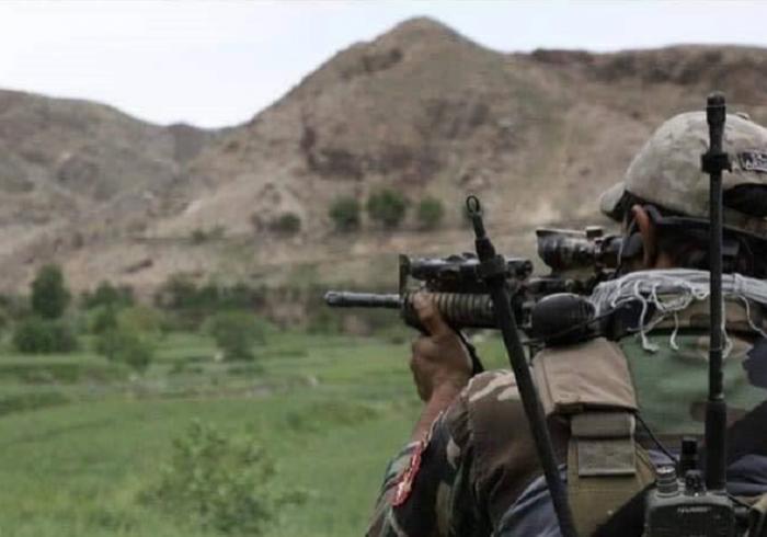 جان باختن هشت نیروی ارتش در انفجاری در میدان وردک