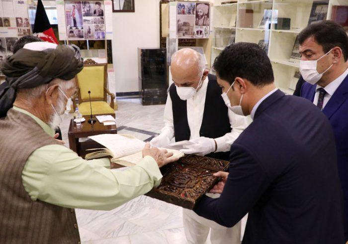 اسناد تاریخی دورۀ غوریان به نگارستان ملی سپرده شد