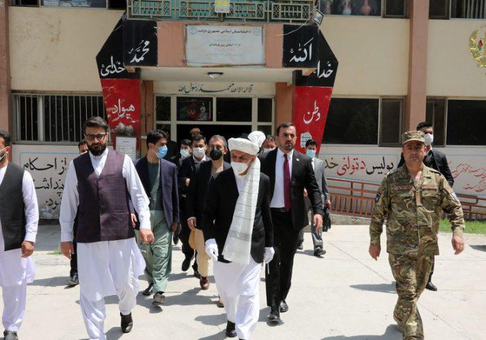 بررسی کارکردهای منسوبین حوزه هشتم شهر کابل از سوی غنی