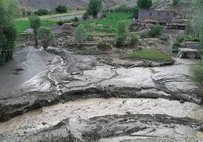 سیلاب در بامیان ۱۶هزار خانواده را متضرر کرده است
