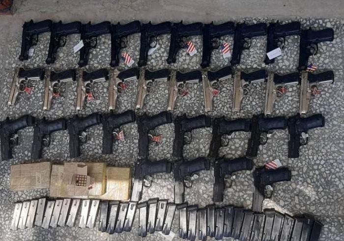 یک تن در پیوند به قاچاق اسلحه و مهمات در ننگرهار بازداشت شد