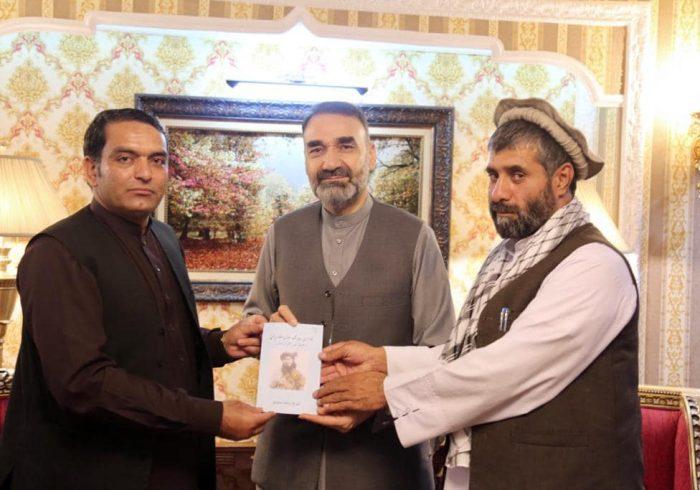 دیدار استاد عطامحمد نور با محترم امانالله مومند و حاجی محمد انور