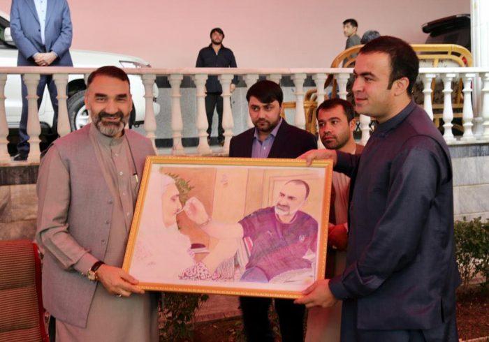 دیدار های ستر جنرال استاد عطامحمد نور در هفته ای که گذشت به روایت تصویر