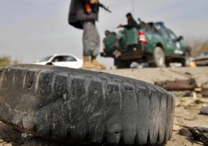 زخمی شدن یک پولیس در انفجار کابل