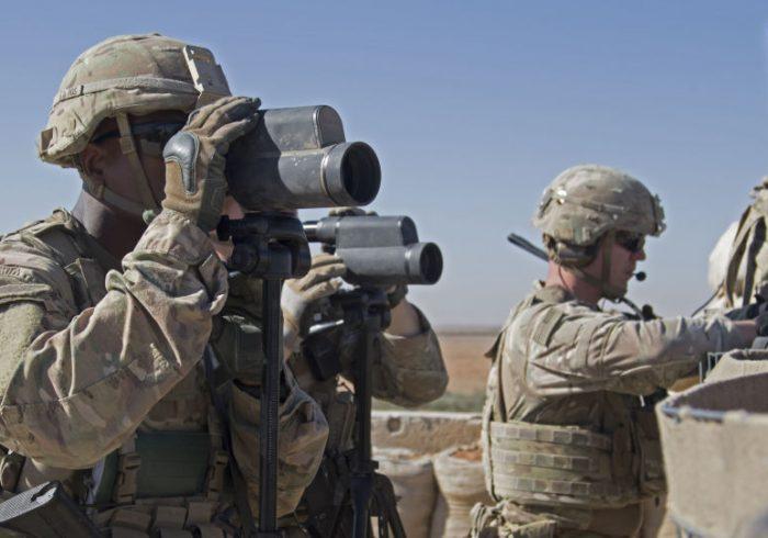 حمله راکتی به پایگاه نظامیان امریکا در سوریه