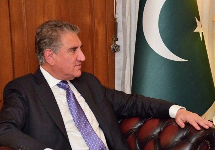 دیدار وزیر خارجه پاکستان با هیات طالبان