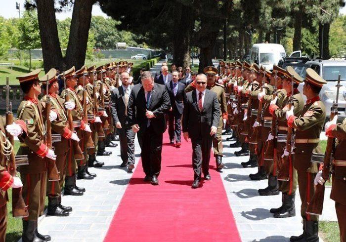 پمپئو: کمک های امریکا به افغانستان بستگی به گفت و گوهای میان افغانستانی دارد