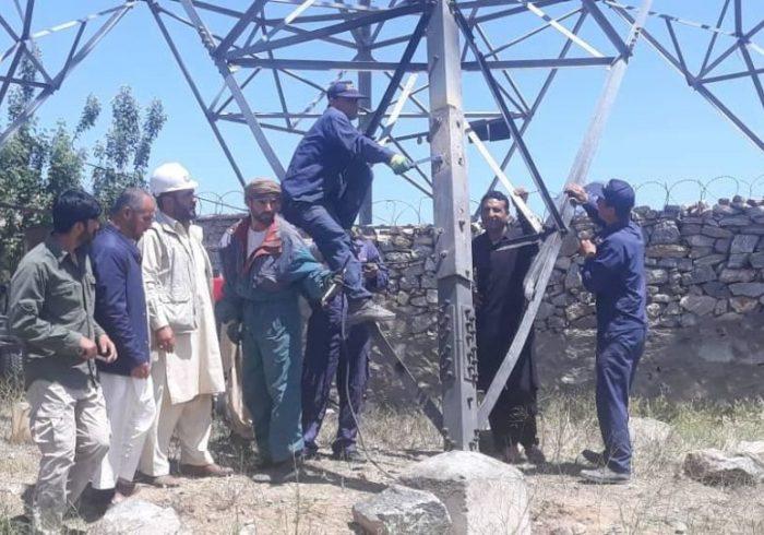 لین برق وارداتی ایران به هرات قطع شد