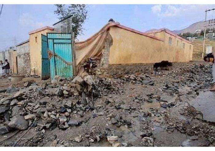 دهها خانه در ولایت پروان به اثر سیل تخریب شده است
