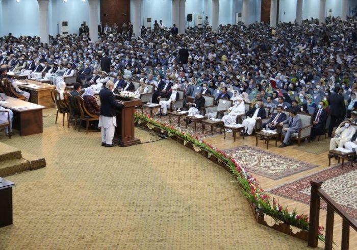 ۱۷۱ میلیون افغانی هزینه مصرف برگزاری لویهجرگه مشورتی صلح شده است