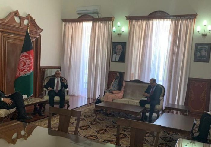 نماینده غیرنظامی سازمان ناتو با امرالله صالح دیدار کرد