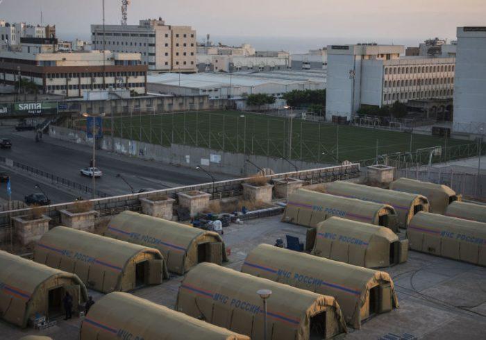 کمک های روسیه به بیروت ادامه دارد