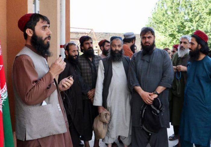 ۲۸ زندانی خارجی در میان چهارصد زندانی طالبان وجود دارد