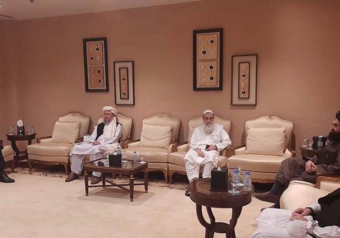 دیدار معاون دفتر سیاسی طالبان با نماینده ملکی ناتو برای افغانستان