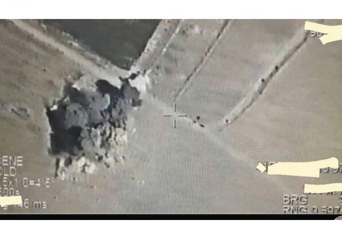 نابود شدن انبار مواد انفجاری طالبان در هلمند