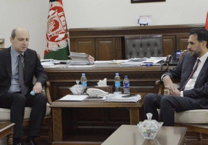 دیدار سفیر روسیه با سرپرست وزارت دفاع افغانستان