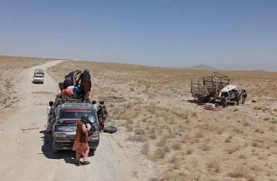 ۱۳ عضو یک خانواده در انفجار ماین کنار جادهیی در کندهار کشته شدند