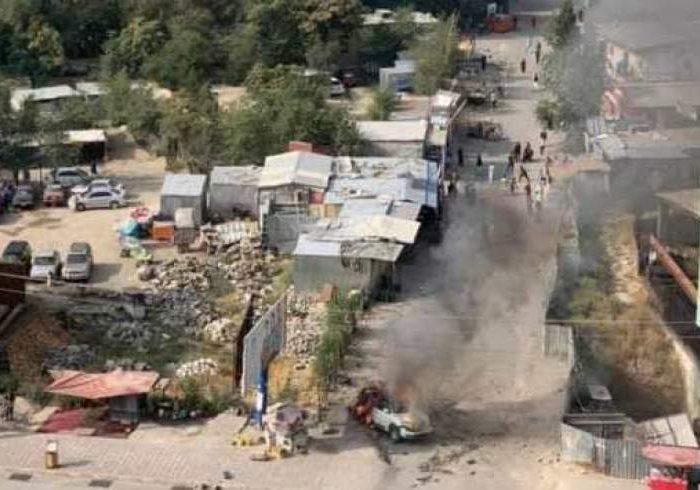 انفجار در مربوطات حوزه نهم شهر کابل