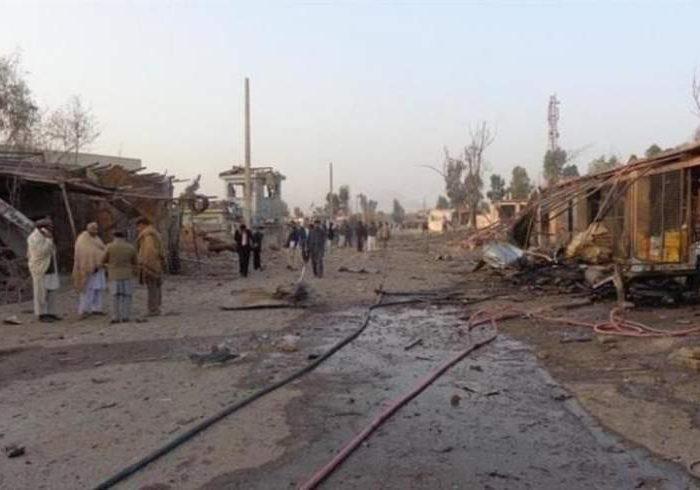 انفجار بمب در چمن پاکستان ۱۵ کشته و زخمی برجای گذاشت