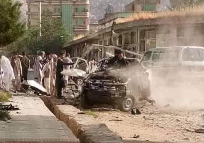انفجار ماین در شهر کابل