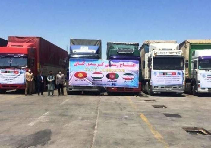 اولین محموله تجاری ایران از راه افغانستان به ازبکستان رسید