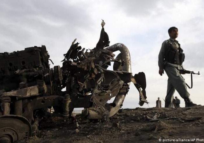 غور همچنان در آتش جنگ/هفت نیروی خیزش مردمی کشته شدند