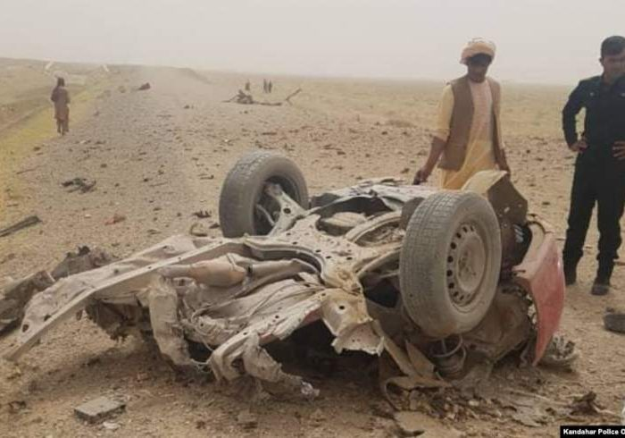 ۱۶ غیرنظامی در دو انفجار در قندهار کشته شدند