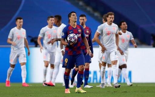 شکست تحقیر آمیز بارسلونا در برابر بایر مونیخ ؛ ۸ -۲