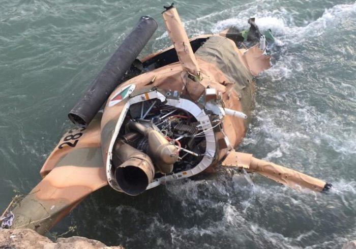 سقوط هلیکوپتر نیروهای هوایی افغانستان؛ دو پیلوت جان باختند