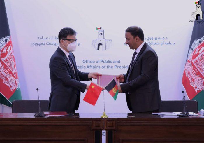 چین به سیلزدگان افغانستان ۵ هزار تن مواد غذایی کمک میکند
