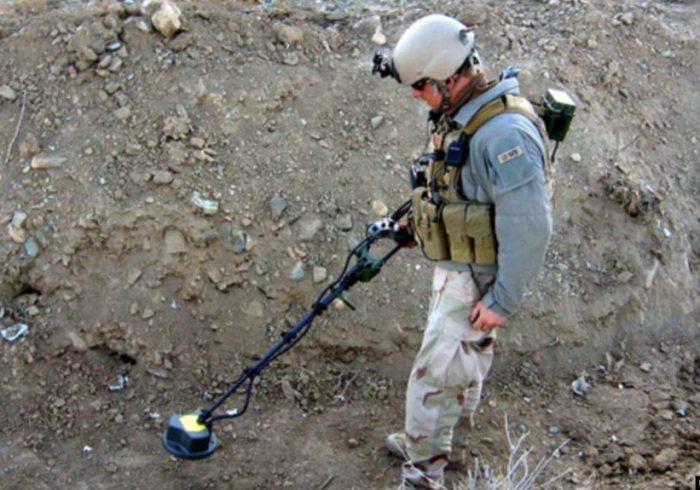 نیروهای اردوی ملی افغانستان ۳۸ حلقه ماین را خنثٰی کرده است