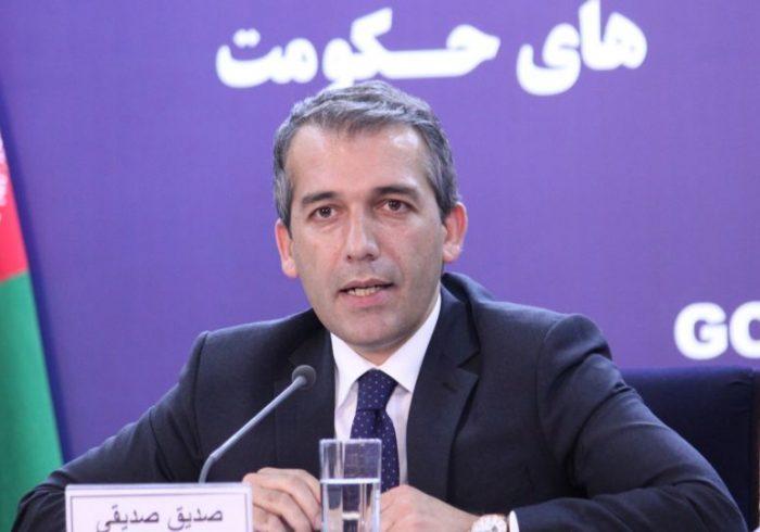 صدیقی: دولت به تعهداتش عمل کرد اکنون نوبت طالبان است