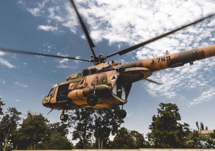 هواپیمای ارتش در تخار سقوط کرد
