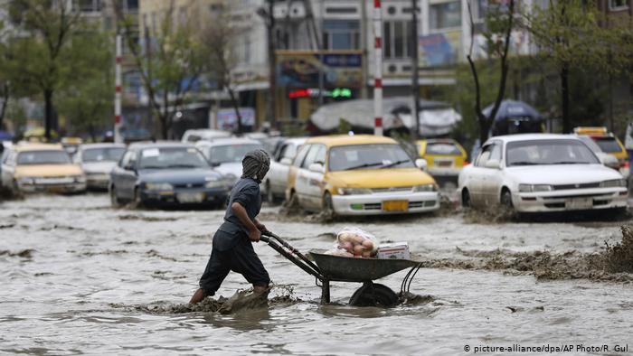 هشدار هواشناسی از بارش شدید و سیلاب در ۹ ولایت