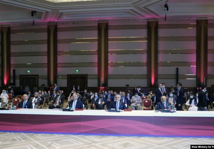 در پایان نشست مذاکرات صلح افغانستان، دو گروه کاری تعیین شد